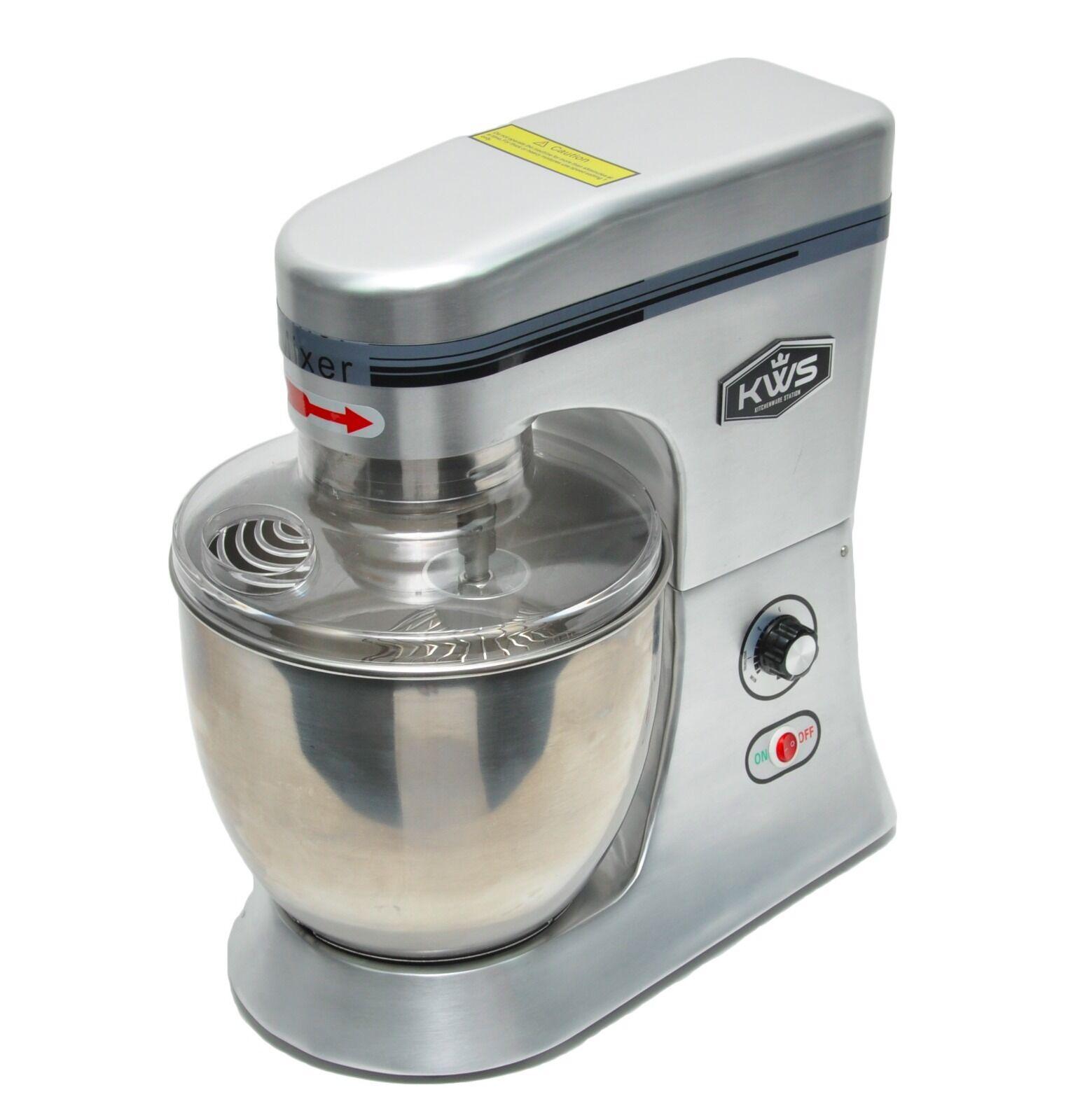 KWS Premium Commercial Class Stand Food Mixer-Heavy-duty 7Lfor  Restaurant/Bakery