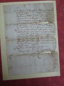 Très Ancienne Lettre Date à Définir Rare (cachet D'auvergne )