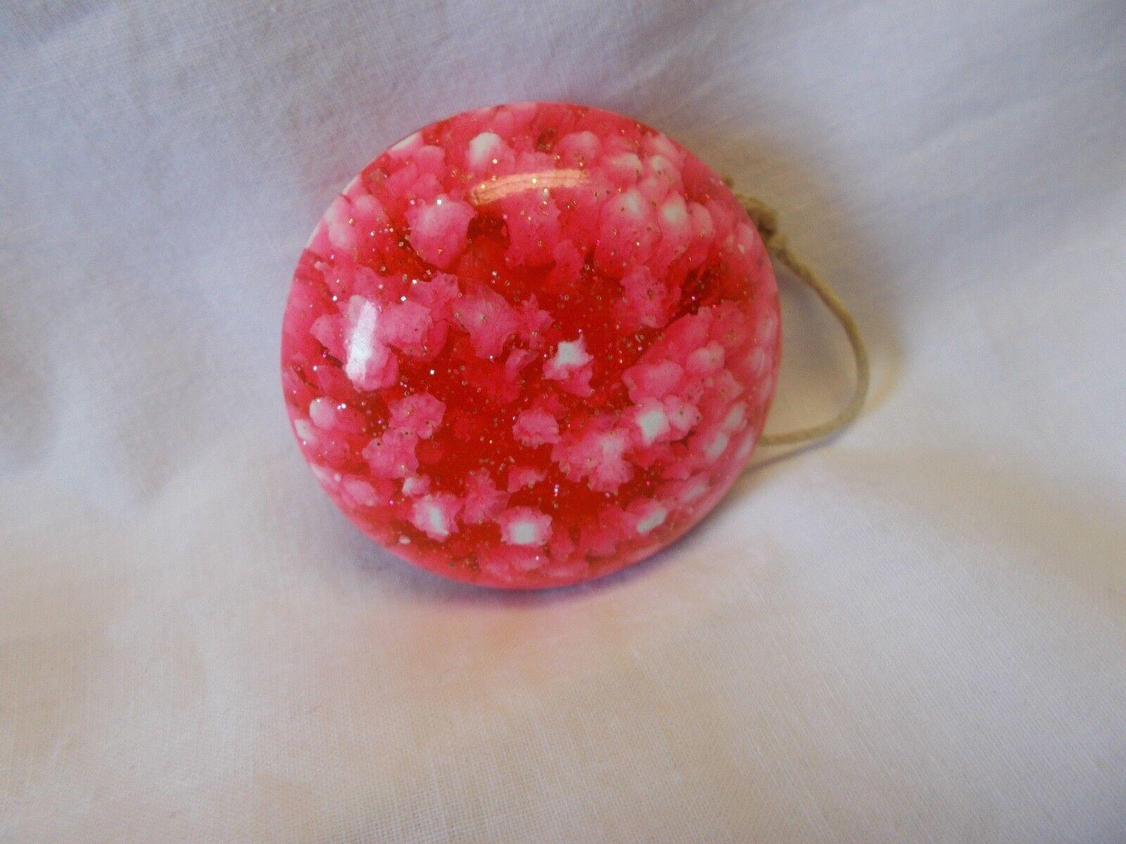 Vintage - yo - yo - karneval - Rosa farbe