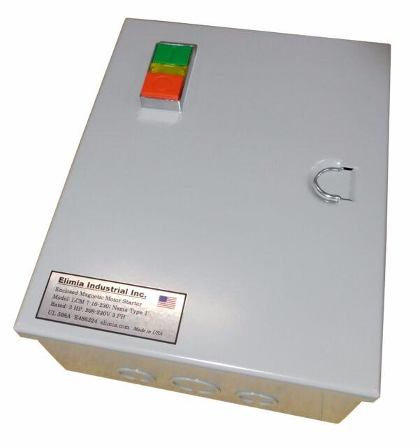 Elimia DOL 5.5-8-480LCM 5 HP 480V Magnetic Motor Starter Nema 1 NEW!