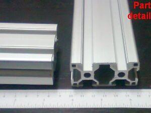 "2 pieces set /<40/"" Aluminum T-slot 2080 extruded profile 20x80-6 Length 1000mm"