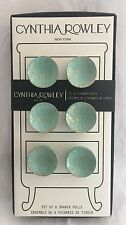 Cynthia Rowley 6 Drawer Cabinet Pulls Round Knobs