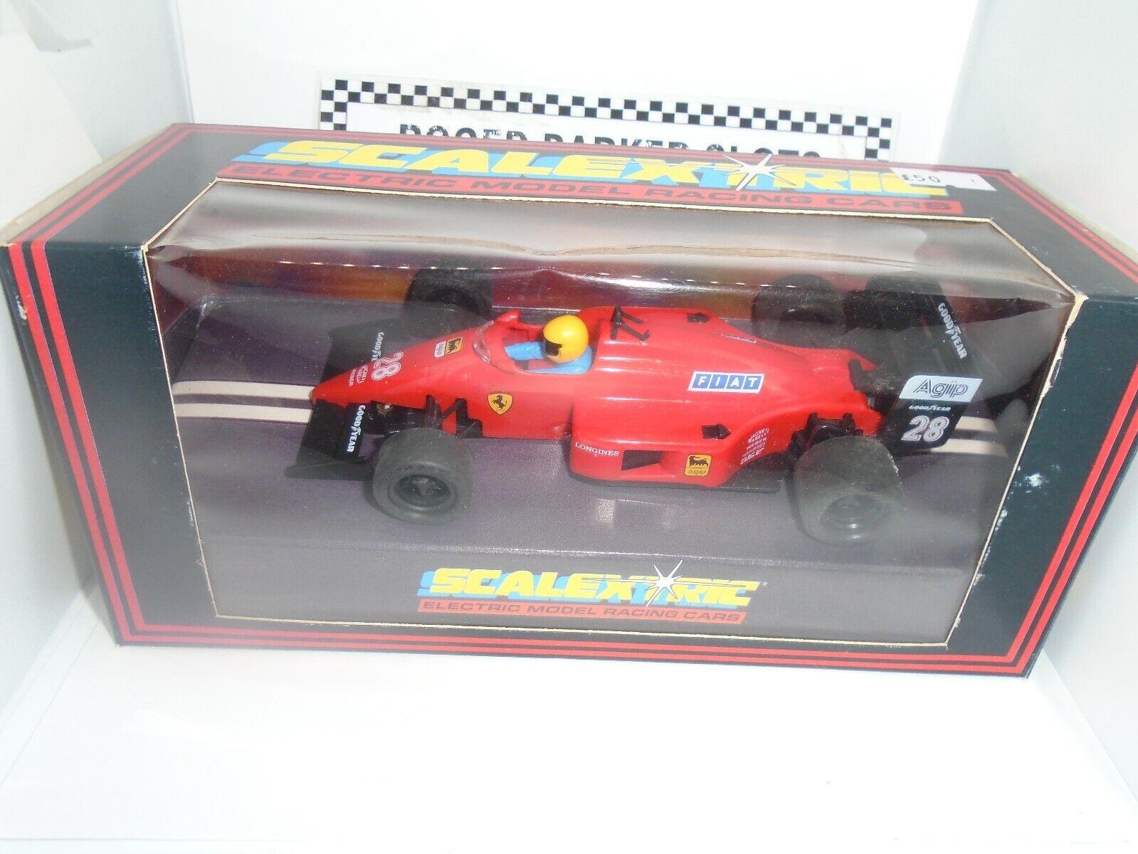Scalextric issue C457 Ferrari F1 BNIB