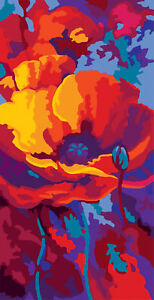 Tapestry Kit de arranque 1x herramienta de Artesanía Coser Robin Hobby Art Reino Unido a granel filoro