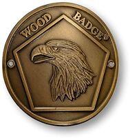 Wood Badge Eagle Hiking Stick Medallion Bsa Boy Scouts Walking Staff Cane Patrol