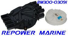 Distributor Cap & Rotor for MPI V8 Mercruiser, Volvo Penta, 884792, 3858975
