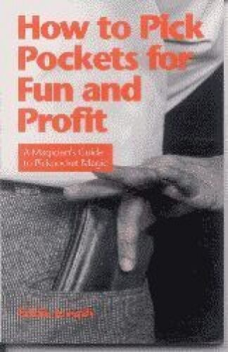 HOW TO PICK POCKETS FOR FUN AND PROFIT BOOK Magic Trick Magician Comedy Steal