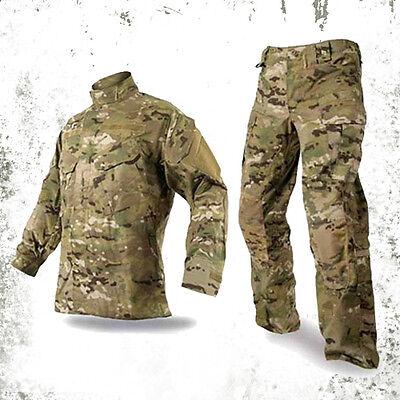 Military BDU combat uniform shirt & pants Set Army Multicam Camouflage suit