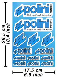 Polini-pegatinas-stickers-vinilo-sustituto-autokollant-Decals-adesivi-627