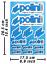 Polini-pegatinas-stickers-vinilo-sustituto-autokollant-Decals-adesivi-627 miniatura 1