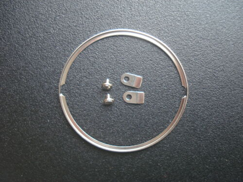 A SET ORIGINAL STEEL MOVEMENT DIAL SPACER RING SCREW TABS FOR ETA 2836 2824 2834