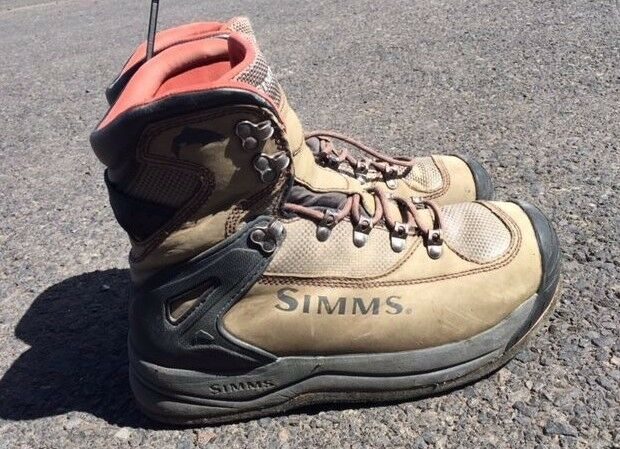 Simms G3 Guide Boot  Dark Elkhorn  Size 10  USED  B