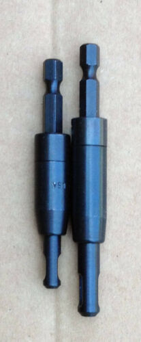2 Spring Loaded Self Centing Hinge Drill Bit 1ea 3//32 1//8 USA.1//4 Quick release