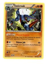 x4 Toxicroak 59/114 NORMAL RARE NM Pokemon Steam Siege TCG