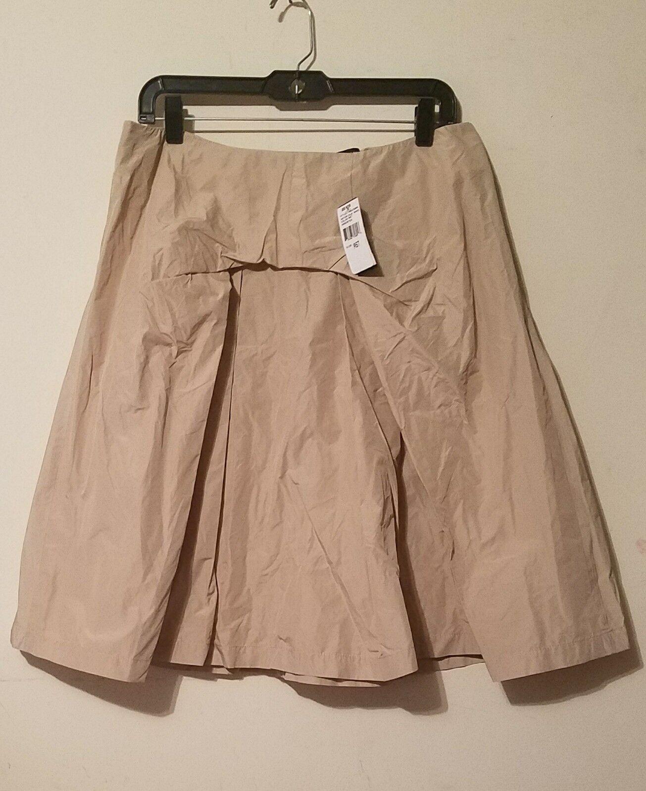 NWT Josie Natori Women Skirt Beige Sz 14