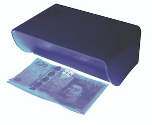 Eagle Mains Powered Security UV Fake Counterfeit Money Note Checker Detector