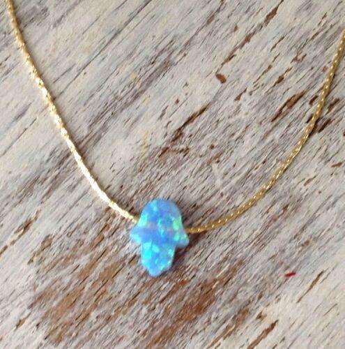 14k or jaune rempli Opale fatma Bracelet Handmade Women/'s