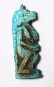 18th Dynasty 1400 B.c Great Varieties Fainece Amulet Tawaret Hearty Zurqieh- Af544- Ancient Egypt
