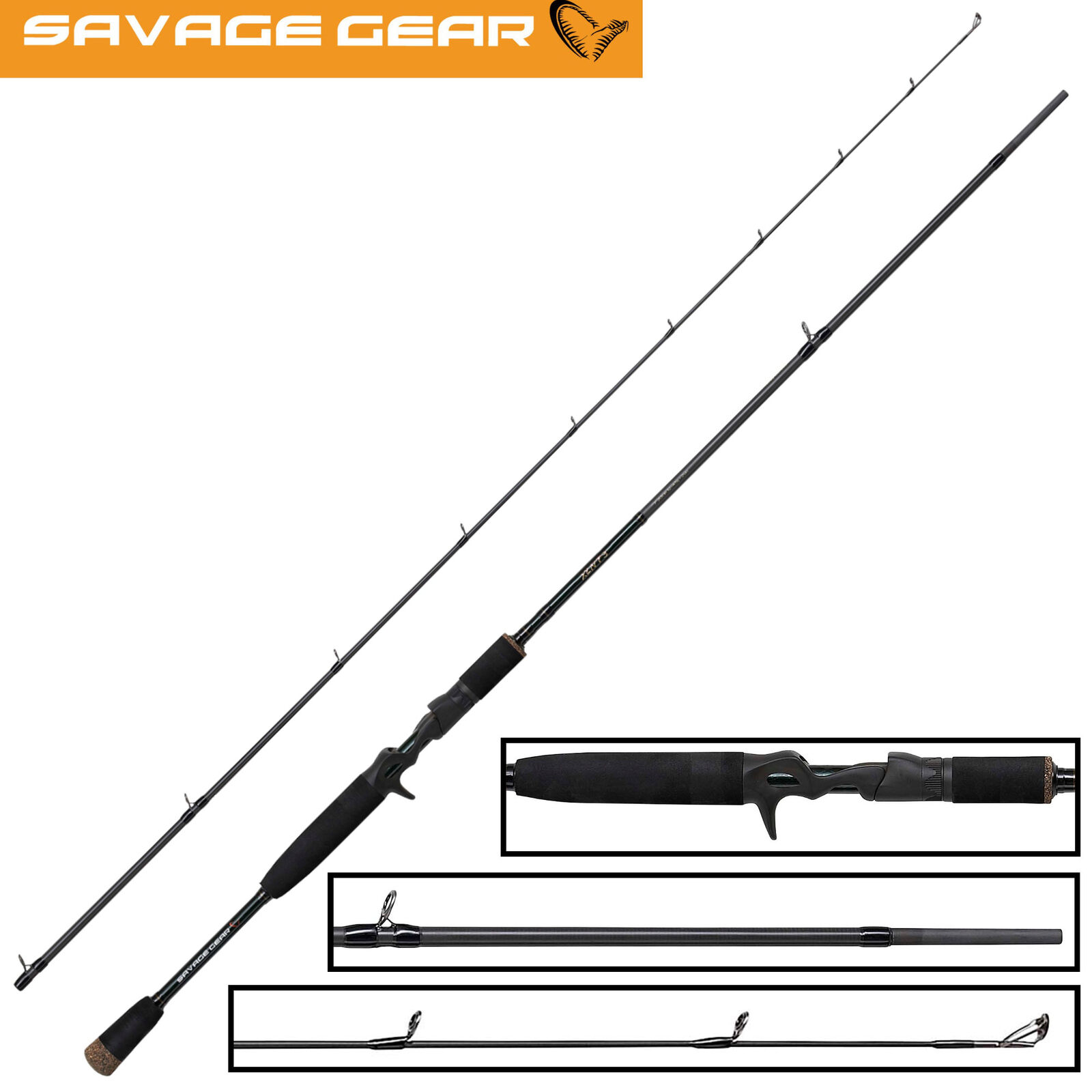 Savage Gear XLNT3 Trigger 2 2 2 13m 12-45g - Spinnrute Jigrute Zanderrute dfb41e