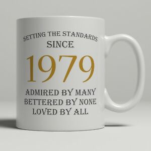 Image Is Loading 40th Birthday Present Gift Born 1979 Mug Idea