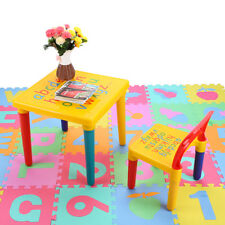 item 1 Kids Plastic Table And Chair Set Furniture Activity Toddler Toy Play Home Gifts -Kids Plastic Table And Chair Set Furniture Activity Toddler Toy Play ...  sc 1 st  eBay & Kids Crayola Play Furniture Activity Center Wood Table u0026 Chair Set ...