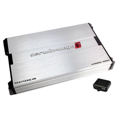 Cerwin Vega XED71200.1M XED Series Monoblock 1200W MAX  Car Subwoofer Amplifier