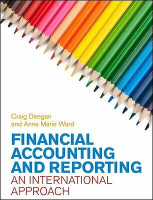 1 of 1 - Financial Accounting and Reporting: An International Approach by Ward, Anne Mar