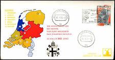 Netherlands 1985 Pope John Paul II Visit Cover #C36187