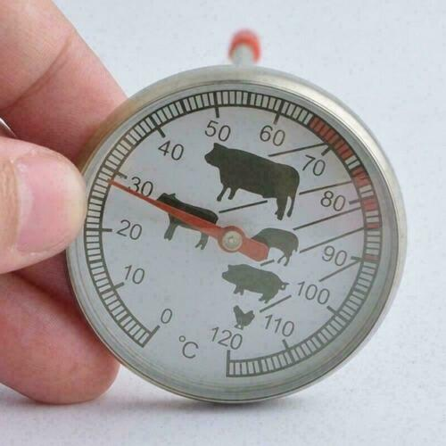 Hot Stainless Steel Instant Read Sample Thermometer BBQ B1R6 Milk Coffee L3I2