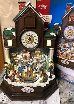 Bree Cuckoo Clock Christmas Coo-Coo Animated Lighted Santa ...