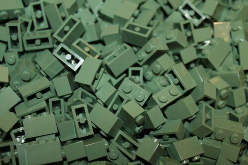 in Sand Grün 3004 500 x LEGO® Brick Sand Green NEU Steine 1x2
