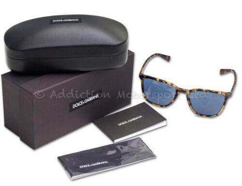 Occhiali da sole Dolce /& Gabbana meno è elegante Havana-Blu DG4301 314180