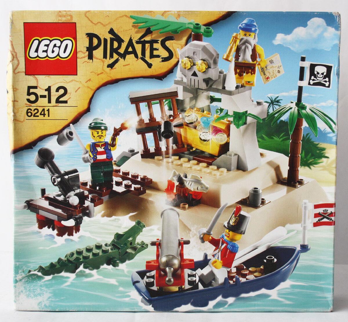 RARE 2009 LEGO 6241 PIRATES LOOT ISLAND TREASURE NEW SEALED MISB