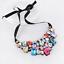 Fashion-Elegant-Women-Rhinestone-Crystal-Choker-Bib-Statement-Pendant-Necklace thumbnail 34