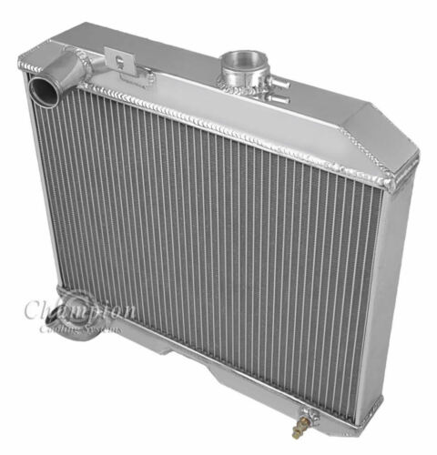 1941 42 43 44 45 46 47 48 49 50 51 52 Jeep Willys 3 Row Core Alum Radiator