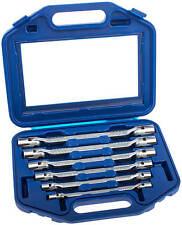 Doppel Gelenkschlüssel Steckschlüssel Satz Vielzahn Schlüssel 6-tg. Werkzeug Set