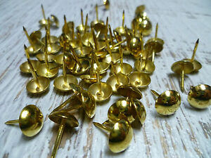 11mm Gunmetal Upholstery Nails Furniture Studs//Tacks//Pins 200 Count