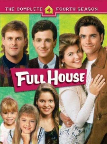 1 of 1 - Full House : Season 4 (DVD, 2007, 4-Disc Set) Brand new and Sealed