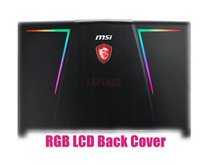 Lcd back cover//Bezel//Palmrest//Bottom case//Hinges for MSI GE73 Raider RGB 8RF