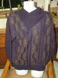 Extreme Paul 1980's Fourticq Alpaca French Sweater Eighties Vintage Designer qrvqF0