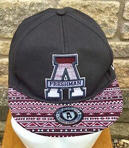 15e5378df Details about *American Freshman * TOPMAN Snapback Baseball Cap Hat Aztec  Peak One Size