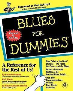 Blues-for-Dummies-by-Cub-Koda-Lonnie-Brooks-and-Wayne-Baker-Brooks-1998-Paperback-Lonnie-Brooks-Cub