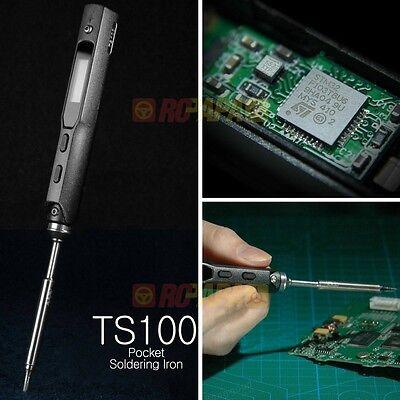 TS100 65W Digital OLED Programmable Soldering Iron 300 °C Work Temperature TS-B2