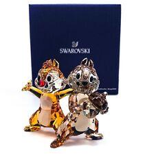 New SWAROVSKI Disney Chip 'N' Dale Sparkle Crystal Figurine Display 5302334