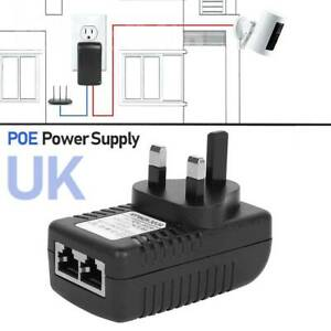 0-5A-48V-POE-Power-Supply-POE-Injector-Adapter-Wall-Plug-Power-Over-Ethernet-NJ