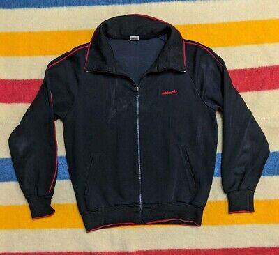 VTG 90's Adidas x Descente Trefoil Mock Neck Bred Piped Track Jacket M | eBay