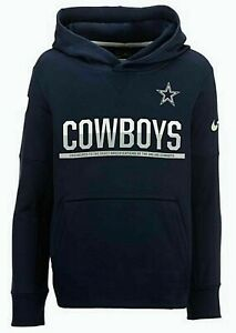separation shoes cfe4a 9cc75 Details about Dallas Cowboys Therma Fit Circuit Pullover Hoodie, Small