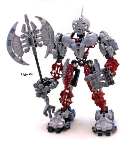 Lego 8733 Bionicle Voya Nui Axonn complet à 100 /% de 2006  C91