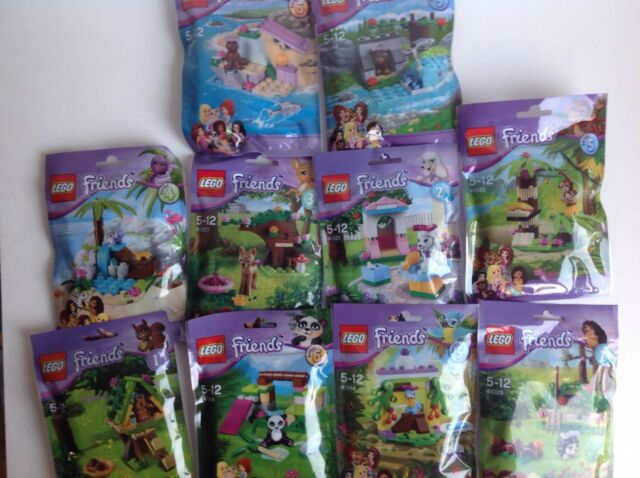 Lego Friends Series 1, 2, 3, 4, 5 & 6 Brand New Factory Sealed Individual Sets.