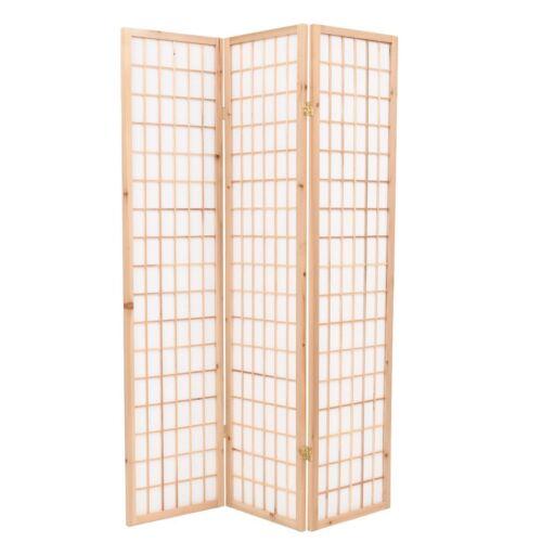 vidaXL Paravent Japanischer Stil Klappbar Raumteiler Trennwand mehrere Auswahl